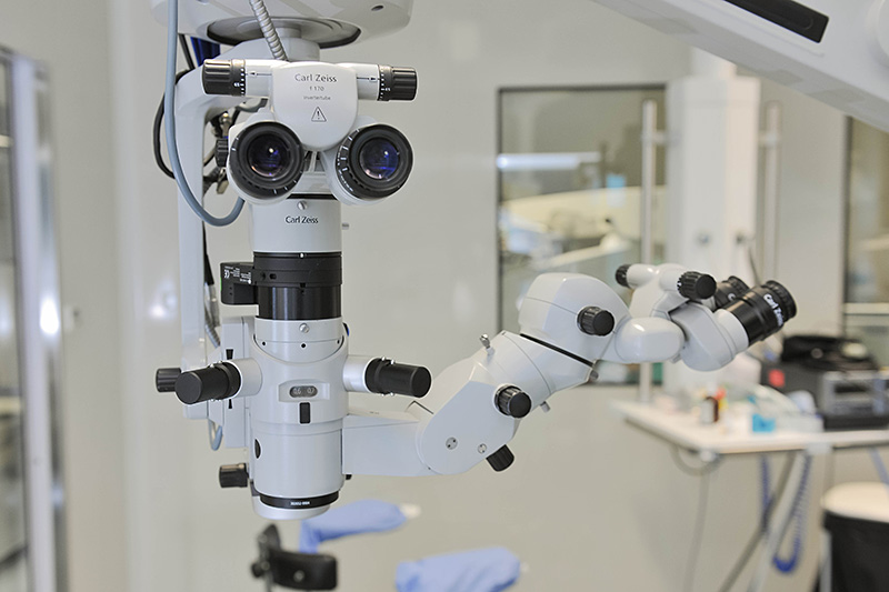 Zeiss Lumera operating microscopes  in our operating rooms