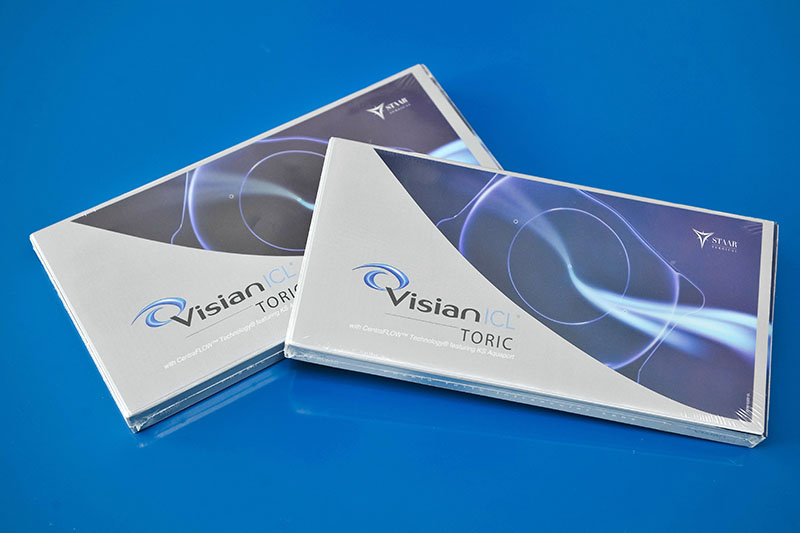 Staar Surgical Visianicl Phakic Intraocular Toric